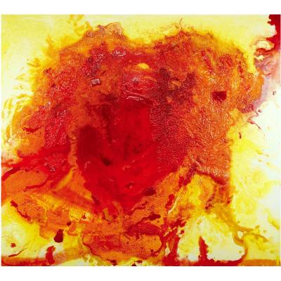 miranda pissarides painting Black Hole II